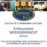 Weekendkrachten Horeca Rotterdam