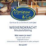 2019 Poster weekendkrachten Meubels Dordrecht