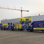 Nieuwe bedrijfswagens Opnieuw & Co