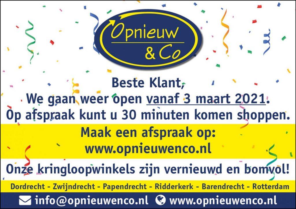 Private Shopping bij Opnieuw & Co